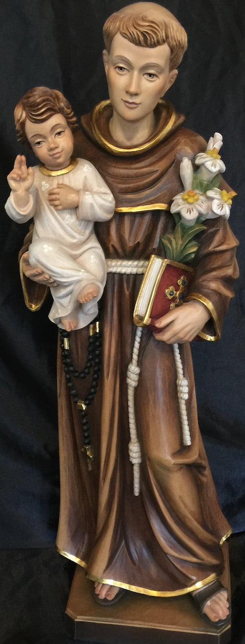 Saint Anthony of Padua Statue