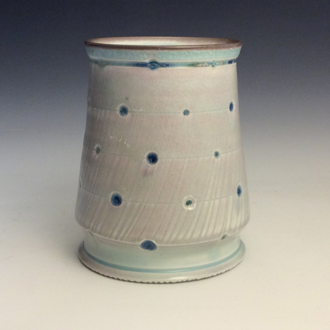 Andrew McIntyre- Celedon Perforated Vase