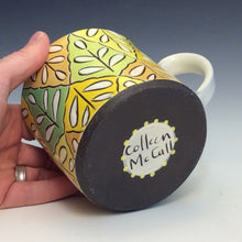 Load image into Gallery viewer, Colleen McCall- Yellow Argyle Mug