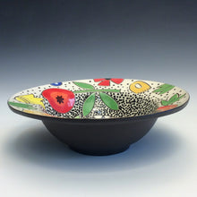 Load image into Gallery viewer, Colleen McCall- Rimmed Spaceflower Bowl