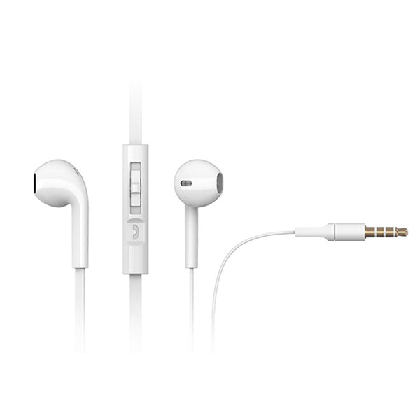White Earbud Headphones