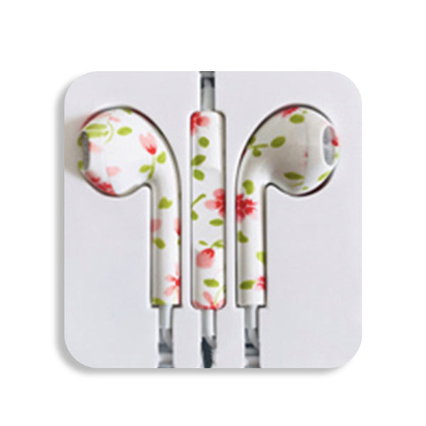 Rose Earbud Headphones
