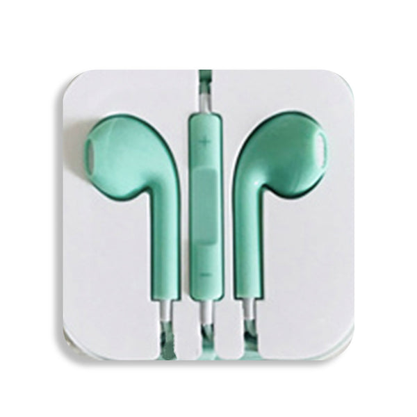 Baby Green Earbud Headphones