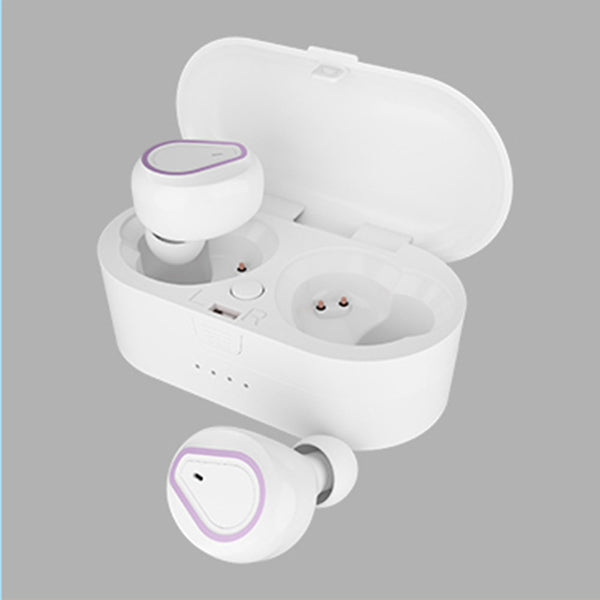 Macaron White Wireless Headphones