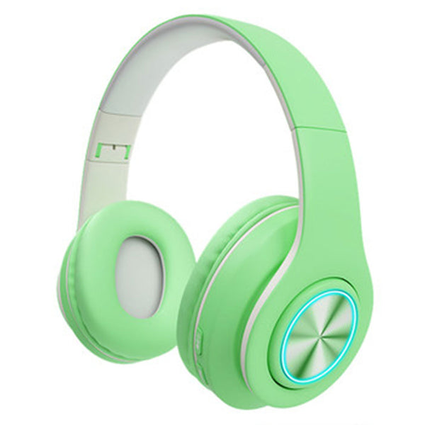 Green Bluetooth Headsets