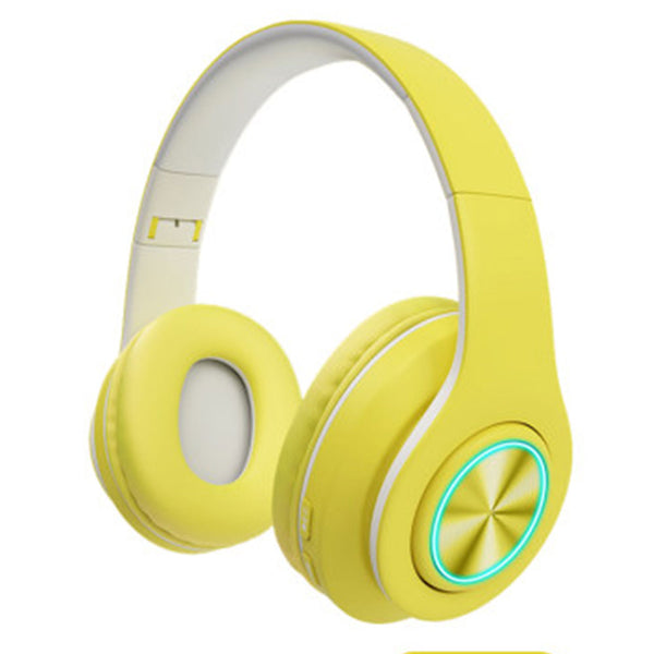 Yellow Bluetooth Headsets