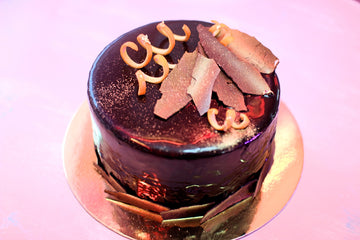 Chocolate orange mousse cake