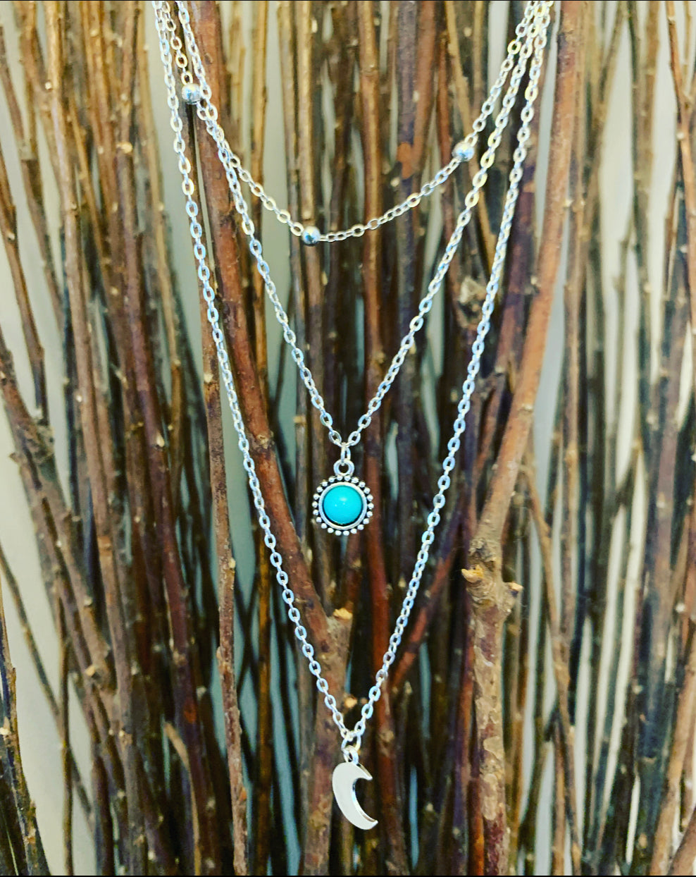 Bohemian Multi Layer Necklace