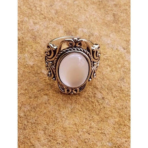 Boho Ring Hippie Vintage Moonstone Antique Victoriana Style Rings - Off The Wall Accessories