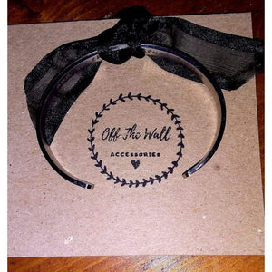 Bracelet Cuff Stainless steel bangle (hidden message inside) 'And so the adventure begins'. - Off The Wall Accessories