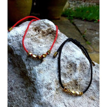 Load image into Gallery viewer, Handmade Tibetan Prayer Beads Red or Black Cord - Off The Wall Accessories