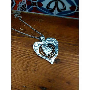 Pendant Jewellery necklaces with chain My Beaten Heart - Off The Wall Accessories