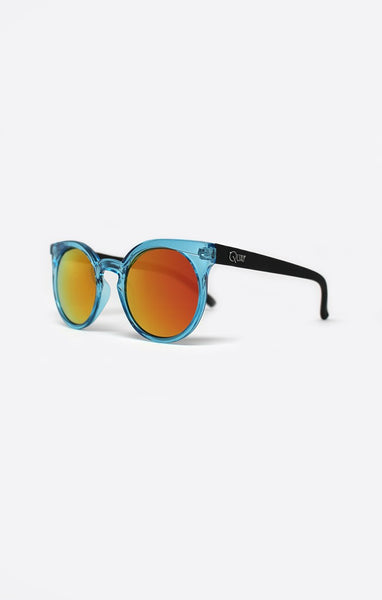 QUAY KOSHA SUNGLASSES - BLUE MIRROR