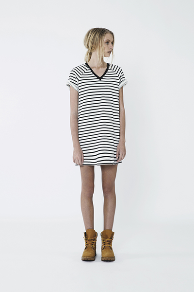 THE FIFTH LABEL DROP THE GAME TSHIRT DRESS