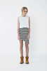 THE FIFTH LABEL LEFT ALONE SKIRT