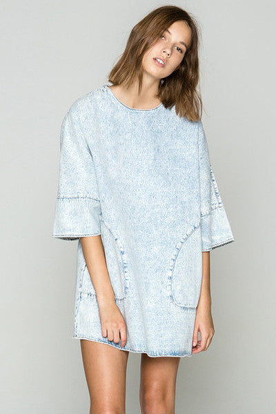 THE FIFTH LABEL BRIGHT TIME TSHIRT DRESS