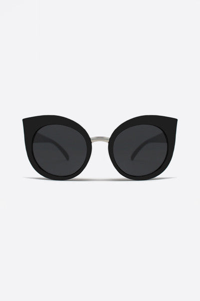 QUAY DREAM OF ME SUNGLASSES - BLACK