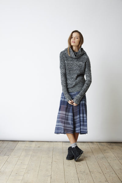 THE FIFTH LABEL THE ULTIMATE KNIT - GREY MARLE