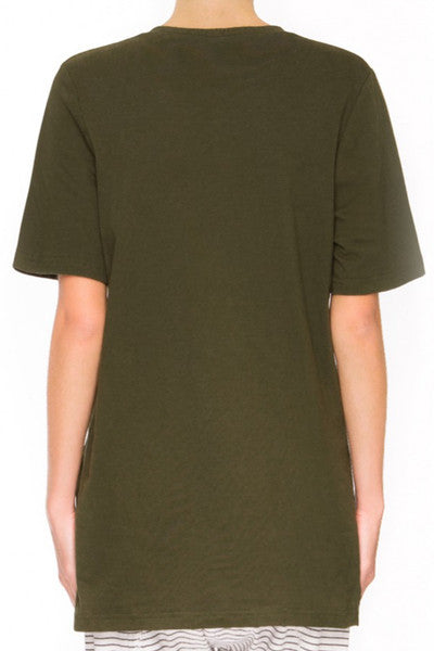 THE FIFTH LABEL INSTRUMENTAL TSHIRT - KHAKI