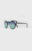 QUAY INVADER SUNGLASSES - BLACK/BLUE