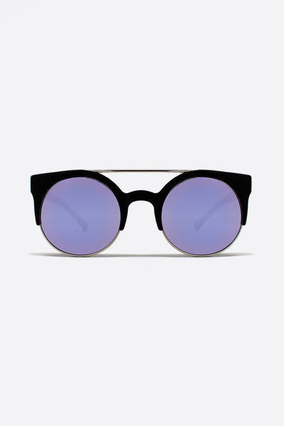 QUAY LIVNOW SUNGLASSES - MIRROR PURPLE