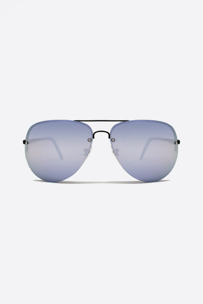 QUAY X AMANDA STEELE MUSE SUNGLASSES - PURPLE