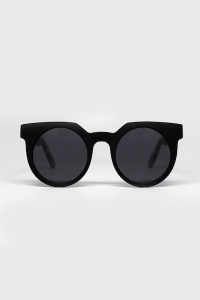 QUAY FRANKIE SUNGLASSES - BLACK