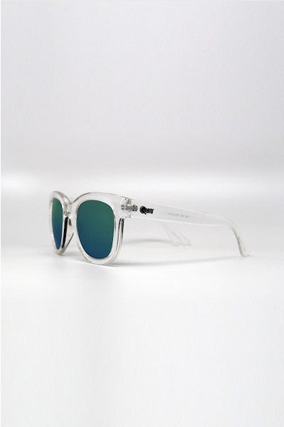 QUAY GOTO SUNGLASSES - CLEAR