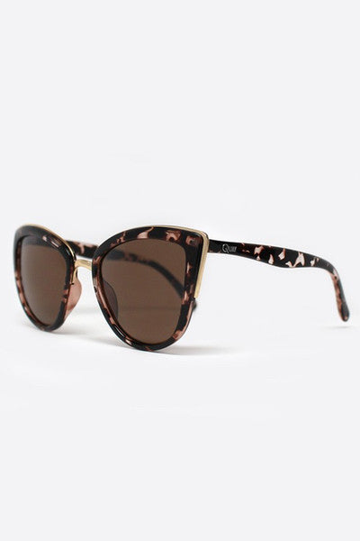 QUAY MY GIRL SUNGLASSES - TORTOISE