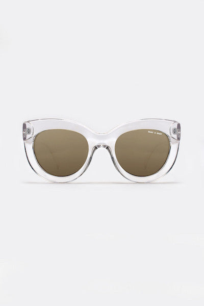 QUAY X SHAY MITCHELL JINX CLEAR SUNGLASSES