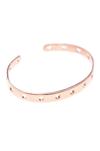 DOT CUFF - ROSE GOLD