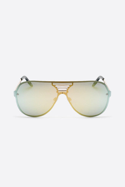 QUAY SHOWTIME SUNGLASSES - GOLD