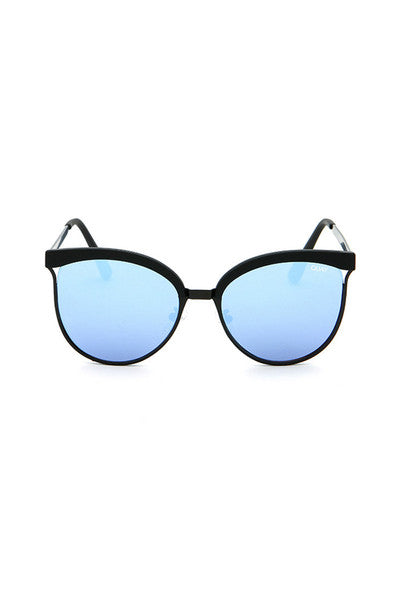 QUAY STARDUST SUNGLASSES - BLACK