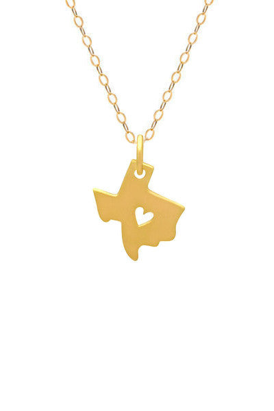 I HEART TEXAS NECKLACE