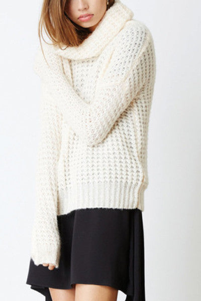 THE FIFTH LABEL THE ULTIMATE KNIT - APRICOT MARLE