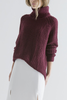 THE FIFTH LABEL TRANSIT KNIT - BURGUNDY