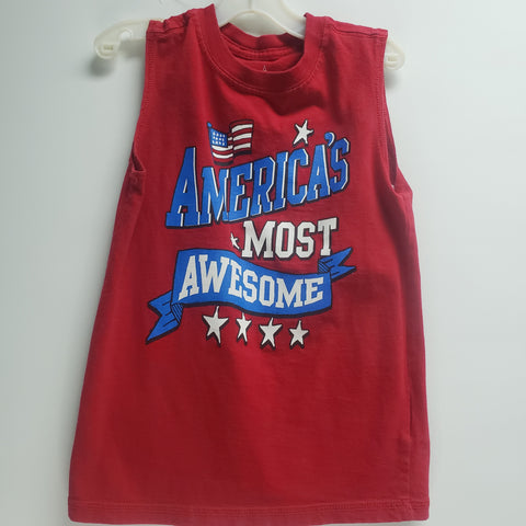 """America's Most Awesome"" Tank Top by Way To Celebrate Size 4-5"