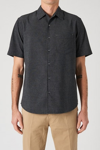 33584 Shadow Stripe SS Shirt Black