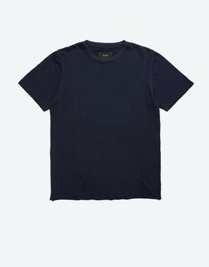 33260 Bass Slub Tee Navy