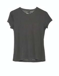 38539 Organic Slim Tee Dark Grey