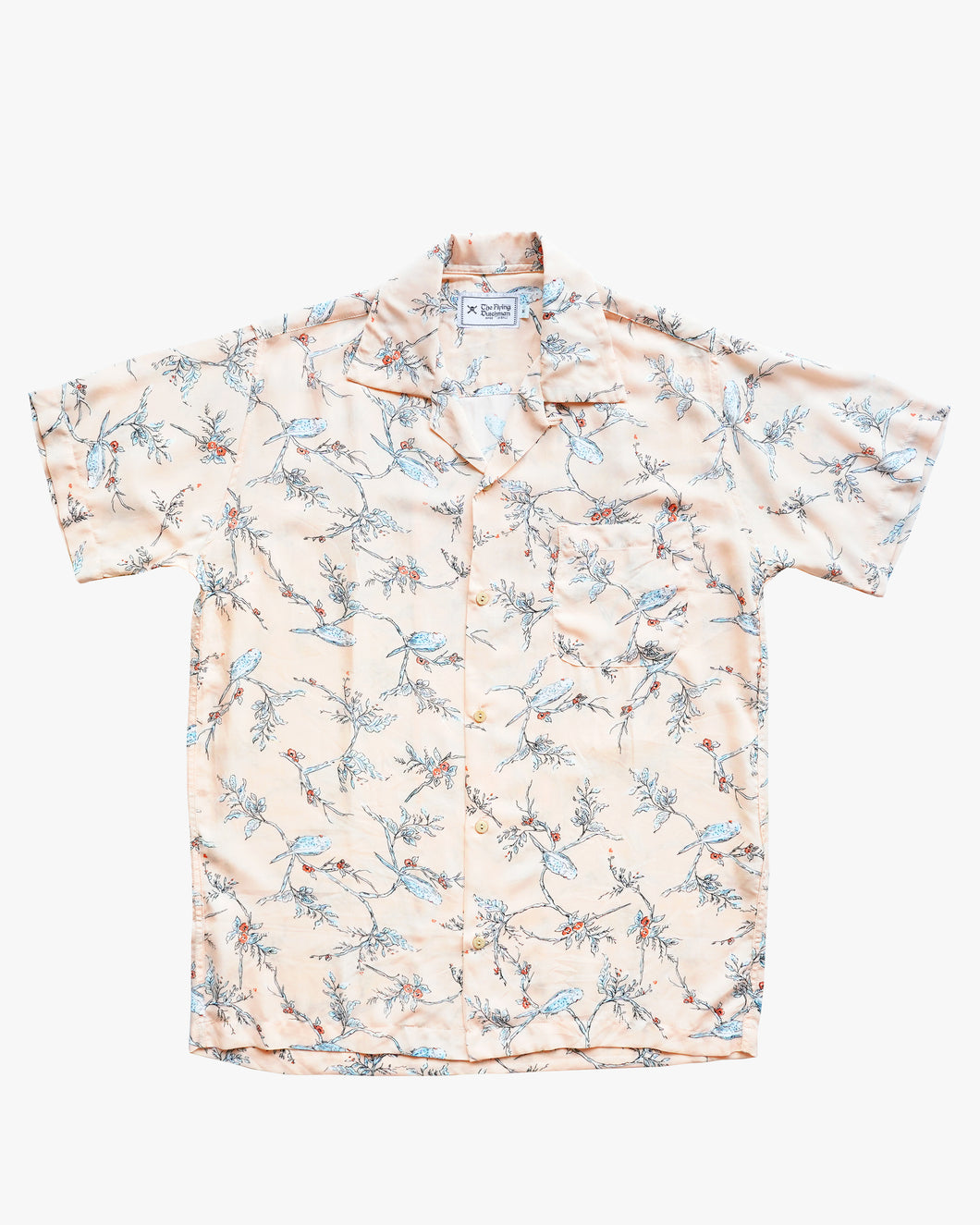 Bird Salmon Shirt