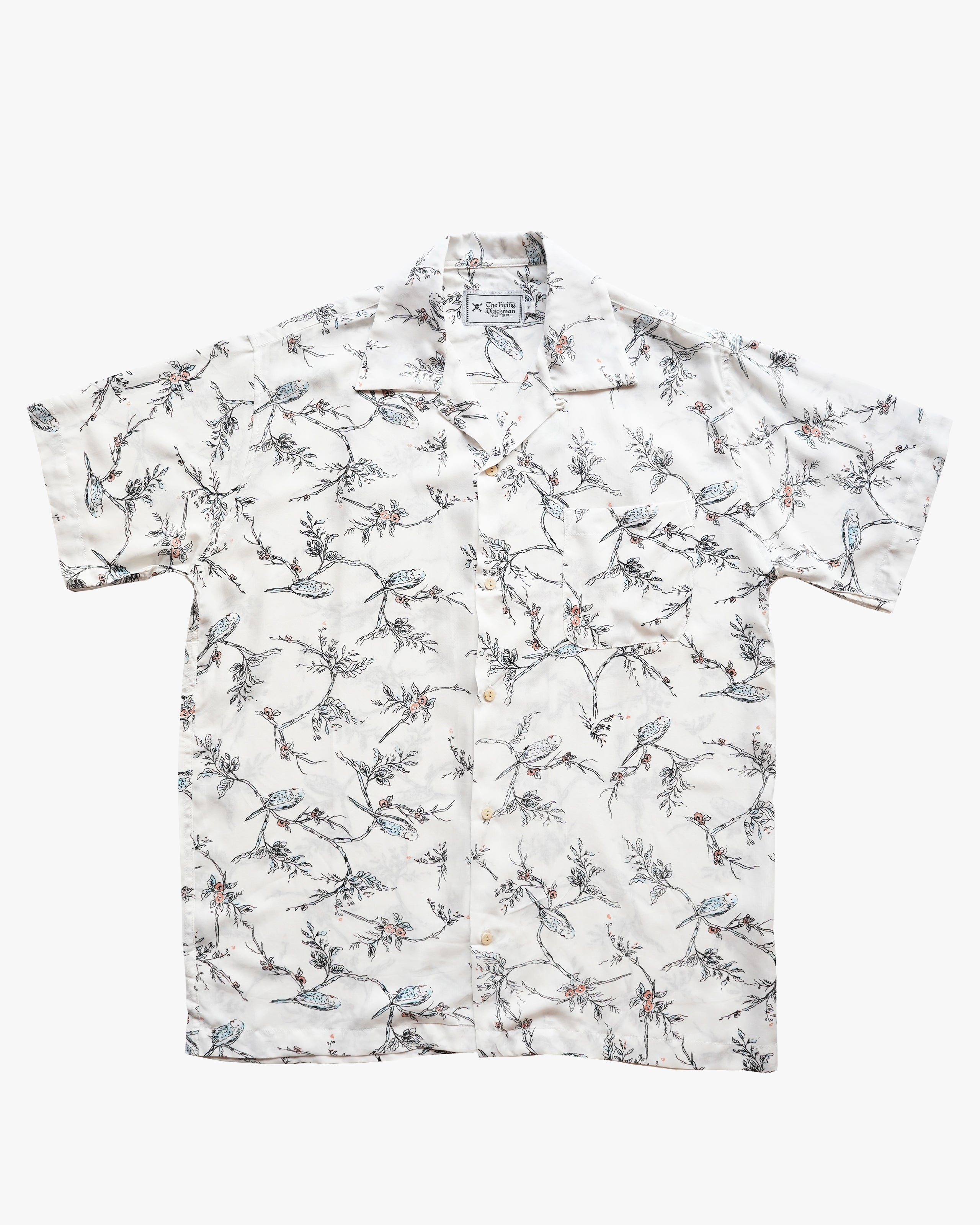 Bird White Shirt
