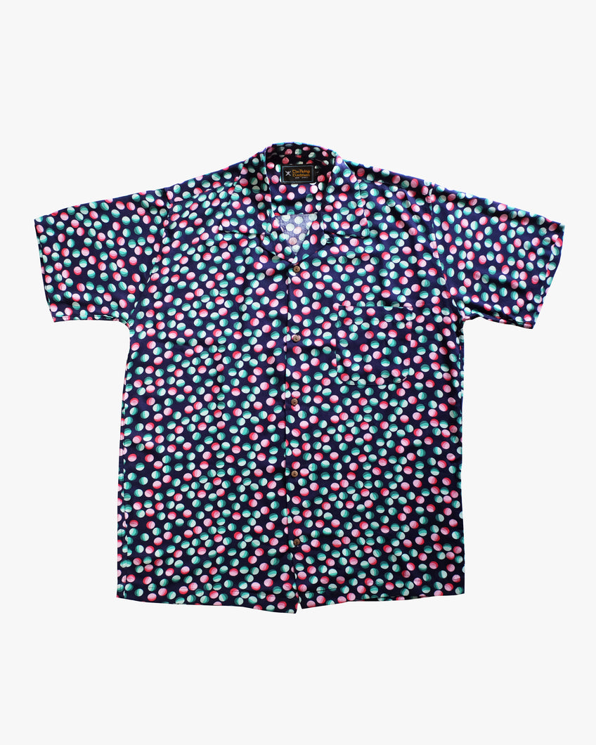 Bubble colored short sleeve shirt