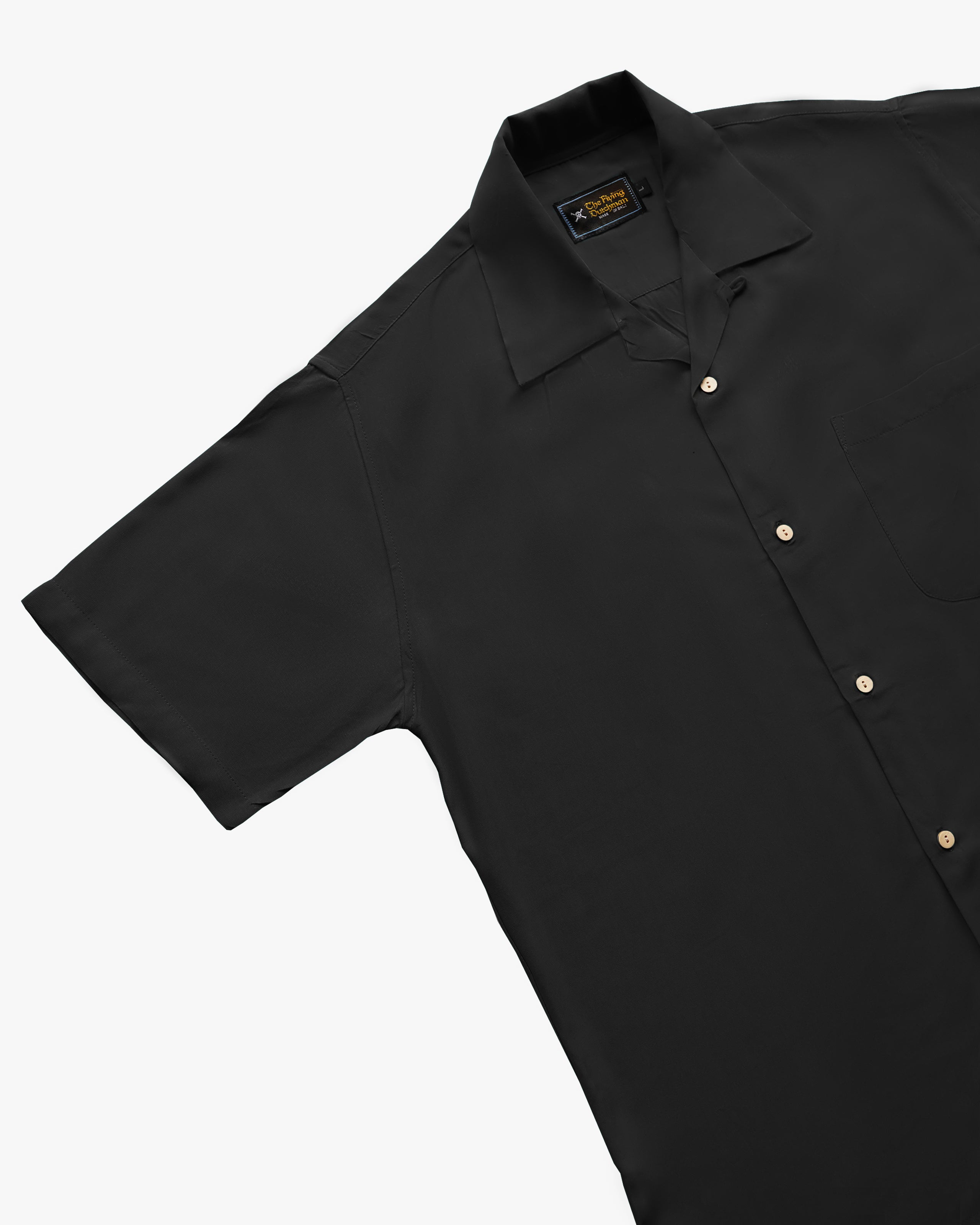 Plain Black short sleeve shirt