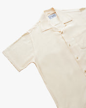 Load image into Gallery viewer, Plain Cream short sleeve shirt