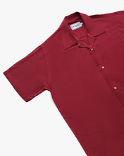 Load image into Gallery viewer, Plain Maroon short sleeve shirt