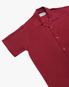 Plain Maroon short sleeve shirt