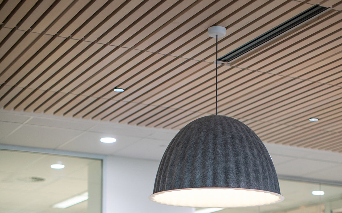 Timber Blade Ceiling Tiles 600 x 600