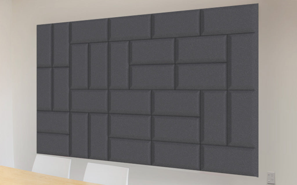 Autex Quietspace Acoustic 3D Tiles – QuietArt
