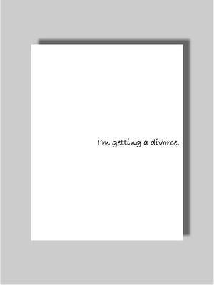 Divorce Card Two
